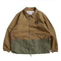 【POLER/ポーラー】SUMMIT POCKET COACH JACKET - Beige Mul