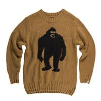 【AIRBLASTER】OG SASSY SWEATER (Grizzly Black)