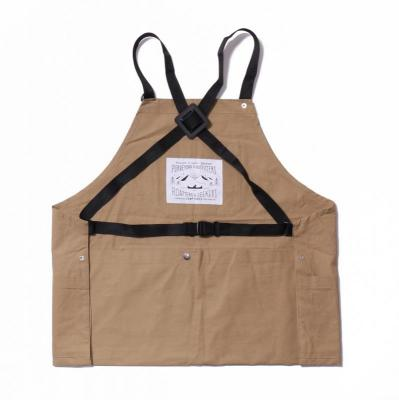【POLER】CAMP VIBES POCKET APRON - BEIGE ポーラーエプロン