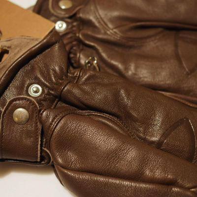 【POLER/ポーラー】THE TAHOMA GLOVE(BROWN) 綿あり M