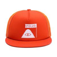 【POLER/ポーラー】SUMMIT TRUCKER MESH BACK - POLER ORANG
