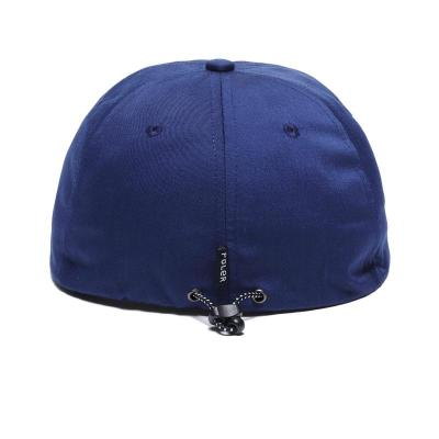 【POLER/ポーラー】PS 6PANEL DRAWCORD CAP - NAVY