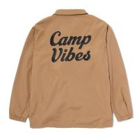 【POLER/ポーラー】CAMP VIBES COACH JACKET - BEIGE