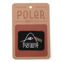 【POLER/ポーラー】PSYCHEDELIC PATCH - BLACK