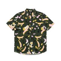20%OFF【POLER/ポーラー】TREETOP S/S WOVEN -LEAF GREEN-