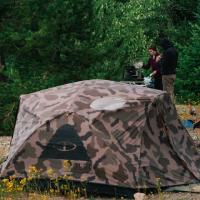 【POLER】TWO MAN TENT - OLIVECAMO ポーラー テント