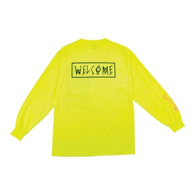 【WELCOME SKATEBOARDS/ウェルカム】Rubberneck L/S TEE