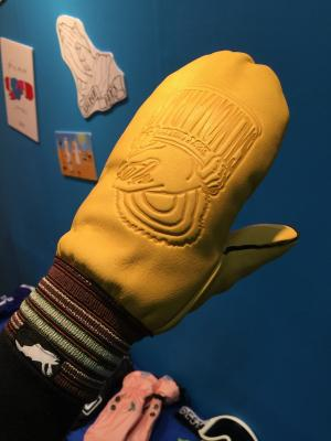 【SALMON ARMS/サーモンアームズ】Raber x Arms Mitt(CANNED)