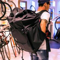 【即出荷】Rolltop Courier Pack  (Black)