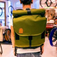 Rolltop Courier Pack  (Olive)