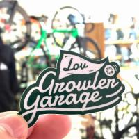【LOV/ロブ】 GROWLER GARAGE LOGO STICKER(GREEN)